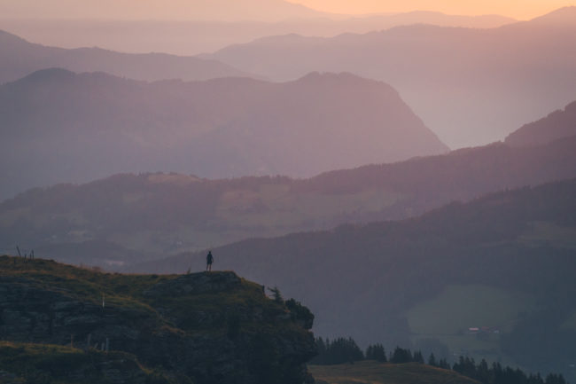 trailrunner sunrise frauenalpe